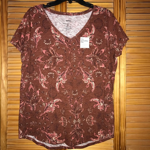 bfca351b8 Sonoma Tops | Womens Goods For Life Essential Vneck Tee | Poshmark